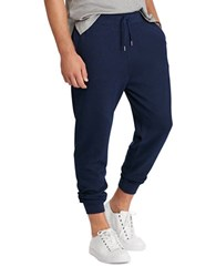 Polo Big And Tall Cotton Blend Jersey Jogger Pants Cruise Navy