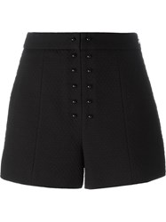 Proenza Schouler Boucle Effect Shorts Black