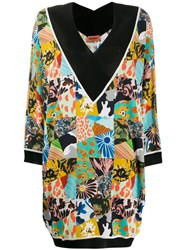 Missoni All Over Print Dress Black