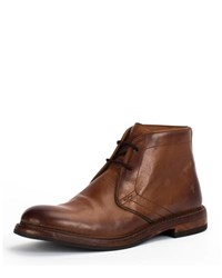 Frye Dye Leather Boots Brown