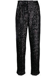 Fabiana Filippi Sequined Trousers Black