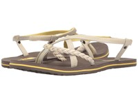 The North Face Base Camp Plus Gladi Rainy Day Ivory Falcon Brown Women's Sandals Beige