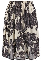 Part Two Evy Maxi Skirt Artwork Black