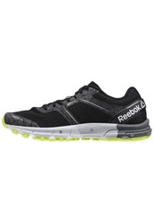 Reebok One Cushion 3.0 Nite Neutral Running Shoes Black Skull Grey Solar Yellow