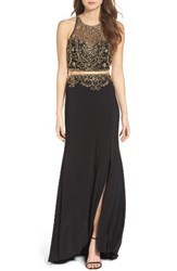 Sean Collection Women's Embellished Two Piece Gown