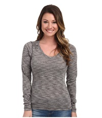 Outdoor Research Flyway L S Shirt Pewter Alloy Women's Long Sleeve Button Up Gray
