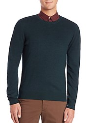 J. Lindeberg Diego Mirco Circle Sweater Military Green