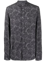Zadig And Voltaire All Over Print Shirt 60