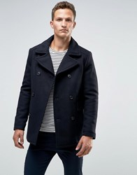 Selected Homme Wool Peacoat Navy
