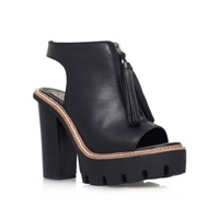Kurt Geiger Solace High Heel Platform Shoe Boots Black