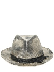 Move Vintage Effect Woven Straw Hat