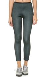 Vpl Spindle Leggings Green Black