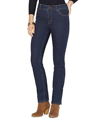 Lauren Ralph Lauren Plus Straight Leg Jeans In Rinse