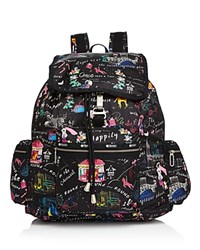 Le Sport Sac Lesportsac Three Zip Voyager Backpack Wonderland