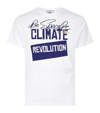 Vivienne Westwood Be Specific Climate Revolution T Shirt Male White