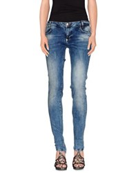 Philipp Plein Denim Denim Trousers Women Blue