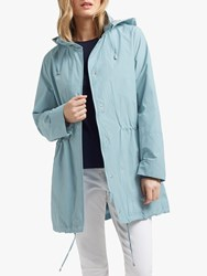 Four Seasons Basic Two Tone Parka Kingfisher Silver