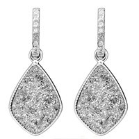 H. Azeem Elara's Star Earrings Silver