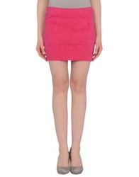 Coming Soon Mini Skirts Fuchsia