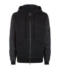 Allsaints Osier Zip Hoody Male Black