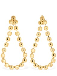 Ca And Lou Victoria Clip On Drop Earrings Gold