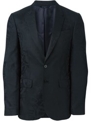 Ps Paul Smith Jacquard Blazer Black