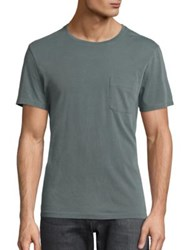Ag Jeans Solid Short Sleeve Tee Green