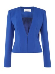 Hugo Boss Longsleeve Collarless Blazer Blue