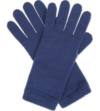 Johnstons Knitted Cashmere Gloves Provence