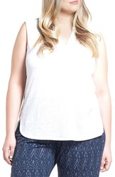 Tart Plus Size Women's Pilar Tank White