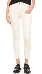 Ksubi High Wasted Crop Jeans White