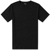 A.P.C. Jimmy Tee Black