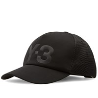 Y 3 Trucker Cap Black