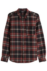 A.P.C. Checked Shirt Multicolor