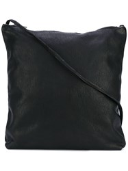 Guidi Classic Crossbody Bag Black