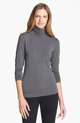 Nordstrom Women's Collection 'Ultimate' Stretch Modal Turtleneck Top