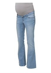 Esprit Maternity Bootcut Jeans Lightwash Light Blue