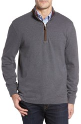 Thaddeus Men's Clifton Quarter Zip Pullover Graphite