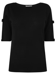 Lk Bennett L.K. Gene Bow Detail Top Black