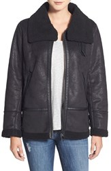 Women's Steve Madden Faux Shearling Aviator Jacket