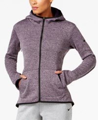 Nike Hypernatural Therma Full Zip Training Hoodie Purple Dynasty