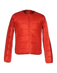 Descente Down Jackets Red