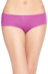 Women's Felina 'Sublime' Boyshorts Purple Cactus Flower