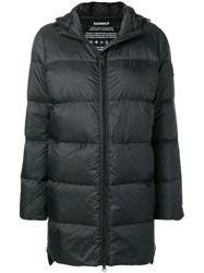 Ecoalf Hooded Padded Coat Black