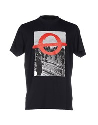 Roundel London T Shirts Dark Blue