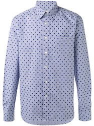 Bellerose Dot Print Shirt Blue