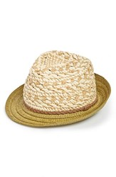 Women's Phase 3 Woven Straw Trilby Hat