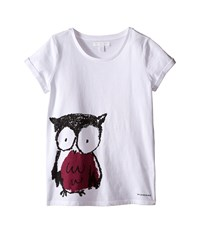 Burberry Owl Tee Little Kids Big Kids Berry Pink Women's T Shirt Red