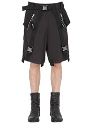 Boy London Parachute Cotton Shorts