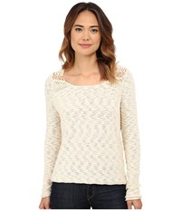 Rip Curl Carefree Pullover Whitecap Grey Women's Long Sleeve Pullover